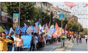 Barış mitingi için binler Bakırköy'e yürüdü