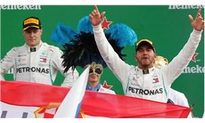 Monza'da zafer Hamilton'ın