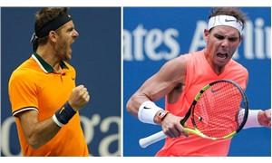 ABD Açık'ta Nadal ve del Potro çeyrek finalde