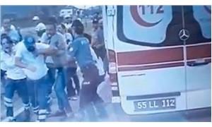 Samsun'da sağlık görevlisine saldırı