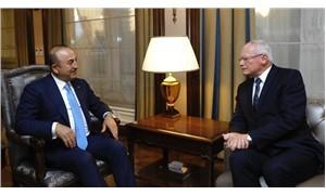 Bakan Çavuşoğlu, ABD'nin Özel Temsilcisi Büyükelçi Jeffrey ile Suriye konusunu görüştü