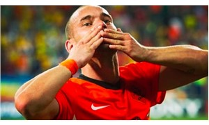 Wesley Sneijder, Milli Takıma veda etti