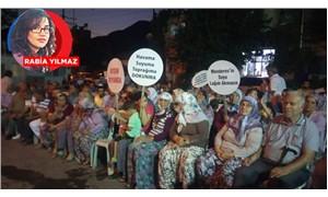 Kızılcaköylüler jeotermal santralına karşı nöbete başladı