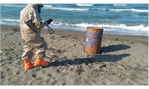 Ordu'da kıyıya vuran varillerle ilgili Valilik'ten açıklama