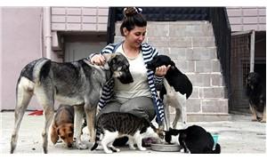 Annesinden miras 100'ün üzerinden kedi ve köpeğin bakımını üstlendi