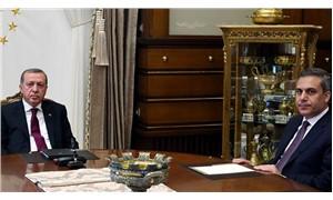 Erdoğan, MİT Başkanı Hakan Fidan ile görüştü