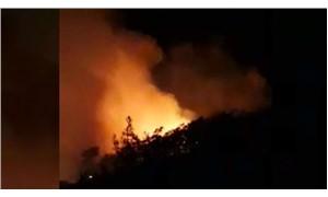 Marmaris Bördübet mevkisinde orman yangını