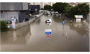 Meteoroloji'den İstanbul'un bazı ilçelerine şiddetli yağış ve sel uyarısı