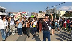 Büyükada'da fayton protestosu: Hayvanlar özgür olmak istiyor