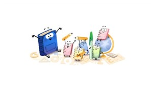 Google'dan 'Okulun İlk Günü' Doodle'ı