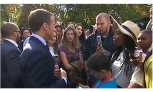 Macron'un azarladığı işsiz genç: Sözlerini sindirmek zordu