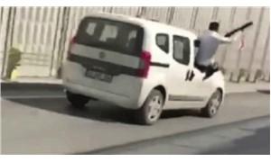 Konya'da düğün konvoyunda araçtan ateş açan kişi gözaltına alındı