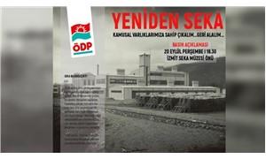 ÖDP'den SEKA eylemi: Türkiye yerli kaynaklara dayanarak kağıt üretimine başlamalıdır