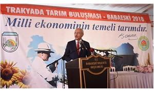 Kılıçdaroğlu: Köylü milletin efendisiydi, tefeci milletin efendisi oldu