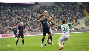 Bursaspor ile Başakşehir berabere kaldı