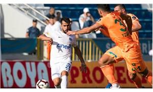 Alanyaspor, deplasmanda Kasımpaşa'yı 2-1 mağlup etti