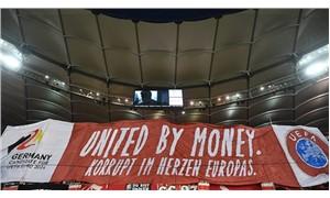 Almanya'da EURO 2024 protestosu