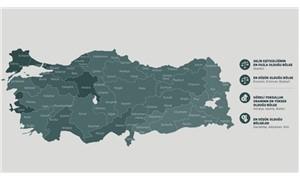 Türkiye'nin gelir haritası çıkarıldı
