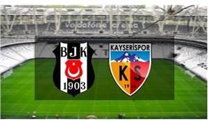 Beşiktaş - Kayserispor maçı İstanbul'da oynanacak