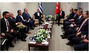Erdoğan Yunanistan Başbakanı Çipras ile görüştü