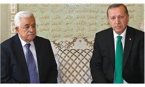 Cumhurbaşkanı Erdoğan, Filistin lideri Abbas'la görüşüyor