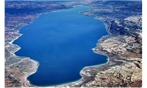 Fatih kadar alana gölet Burdur Gölü'nü kuruttu