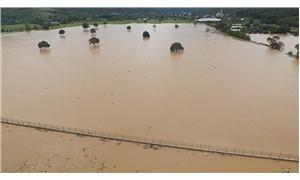 Beykoz'da şiddetli yağış