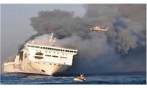 Baltık Denizi'nde 335 kişiyi taşıyan feribotta yangın çıktı