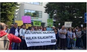 Kültürpark'taki binanın özel üniversiteye tahsisi protesto edildi