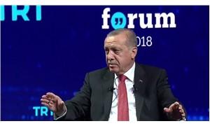 Erdoğan, TRT World Forum'da konuşuyor