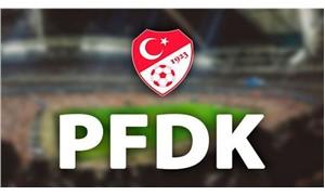 PFDK'dan  5 takıma para cezası