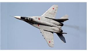 Rusya'da savaş uçağı düştü