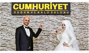 Sivas Cumhuriyet Üniversitesi içerisindeki bina düğün salonu yapıldı