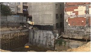Bağcılar'da çökme riski olan binalar boşaltıldı