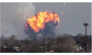 Ukrayna'da cephanelik patladı: 10 bini aşkın kişi tahliye ediliyor