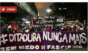Brezilyalılar, aşırı sağcı aday Bolsonaro'ya karşı Sao Paulo sokaklarını doldurdu