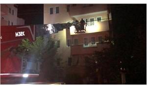 Bursa'da çatlaklar meydana gelen 6 katlı bina tahliye edildi