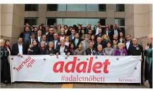 Adalet Nöbeti tutan avukatlara beraat