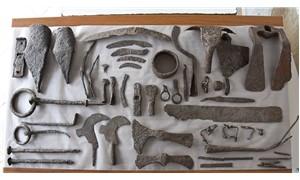 Alexandria Troas Antik Kenti'nde 1500 yıllık tarım aletleri bulundu