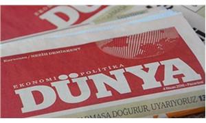 Dünya Gazetesi'nden 'basılı yayına son veriyor' iddiasına yalanlama