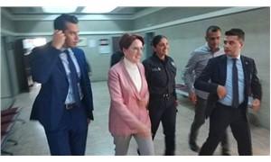 Akşener, 'İsmail Kahraman'a hakaret' davasında ifade verdi