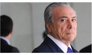 Brezilya Devlet Başkanı Temer için yolsuzluk suçlaması