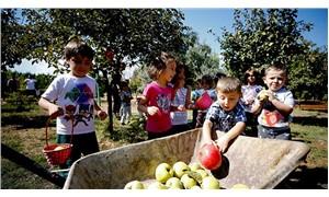 Çocuklar bu okulda kendi gıdalarını yapmayı öğreniyor