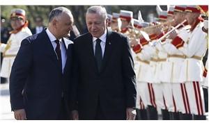 Erdoğan ve Dodon'dan ortak basın açıklaması