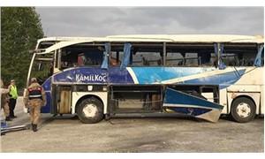 Maraş'ta yolcu otobüsü devrildi: 7 ölü, 24 yaralı