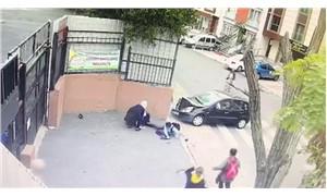 Ataşehir'deki ortaokul önünde kaza: Öğretmen, aracıyla öğrencilerin arasına daldı