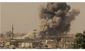 Koalisyon güçlerinden Deyr ez Zor'daki konut bölgesine hava saldırısı
