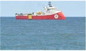 'Türk araştırma gemisi, Yunan fırkateyni tarafından taciz edildi'