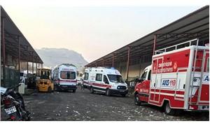 Bergama'da tekstil atölyesinin istinat duvarı çöktü: 2 işçi yaşamını yitirdi, 3 işçi yaralı