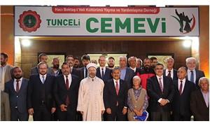Diyanet İşleri Başkanı'ndan Dersim'de Cemevi ziyareti